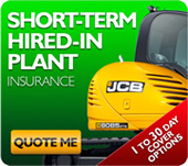 Need Plant Hire Insurance?